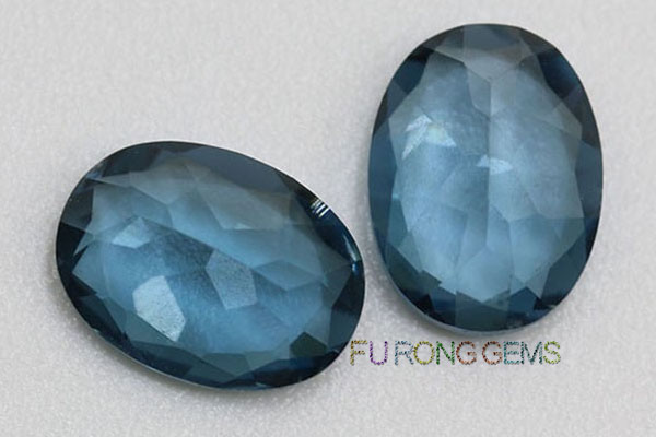 London-blue-Natural-topaz-Oval-Shaped-Gemstones-wholesale