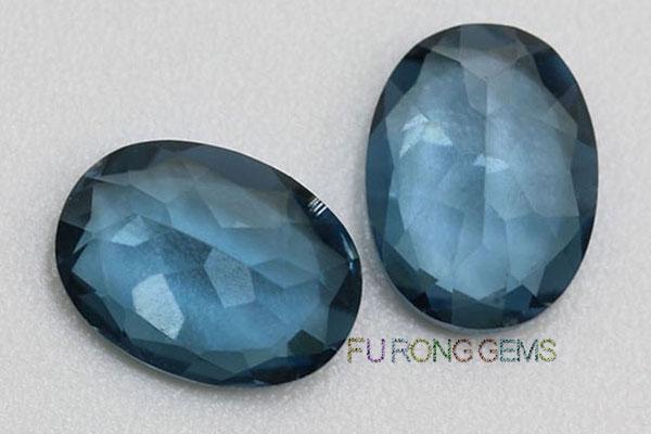London-blue-Natural-topaz-Oval-Shaped-Gemstones-wholesale