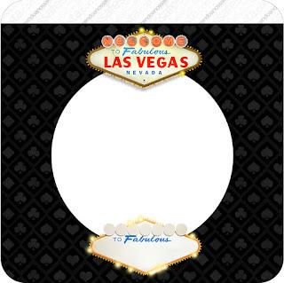 Imprimibles de Fiesta de Las Vegas para Imprimir Gratis.