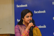 keerthi suresh at facebook office-thumbnail-5
