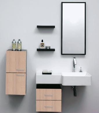 tipos de muebles para baños pequeños en Huesca