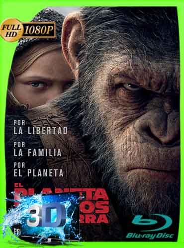 El Planeta De Los Simios La Guerra (2017) Latino Full 3D SBS 1080P [GoogleDrive] dizonHD