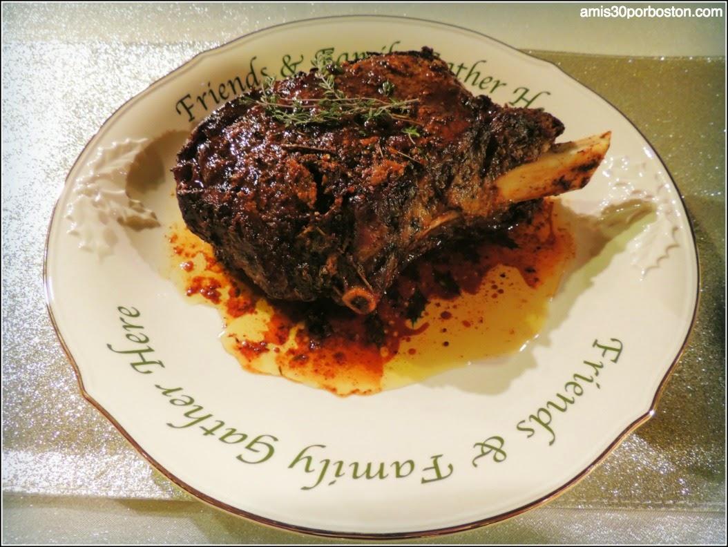 Menú Cena de Noche Vieja: Rib Roast