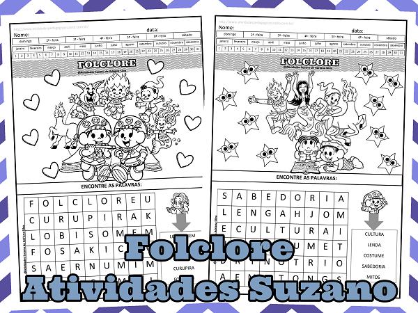 lingua-portuguesa-alfabetização-folclore-turma-da-monica-atividades-suzano-gramatica