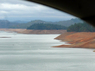Shasta Lake or reservoir.
