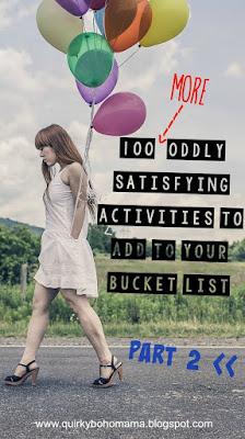 odd bucket list