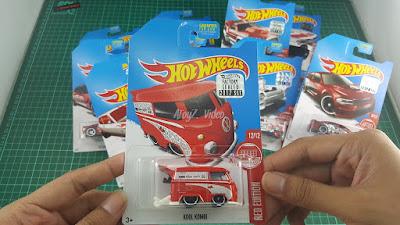 Hot Wheels Red Edition Kool Kombi