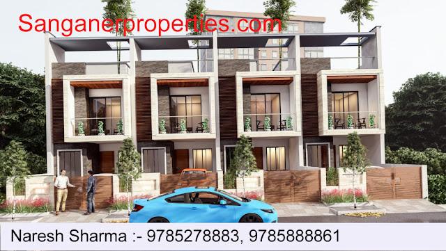 JDA Approved Residential House in Sanganer