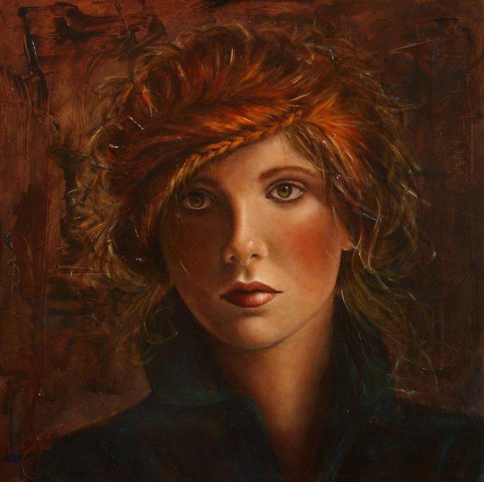 Смесь классической и современной живописи. Liseth Visser (ElisabethV)