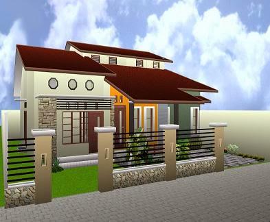Model Rumah Minimalis 1 Lantai 2017
