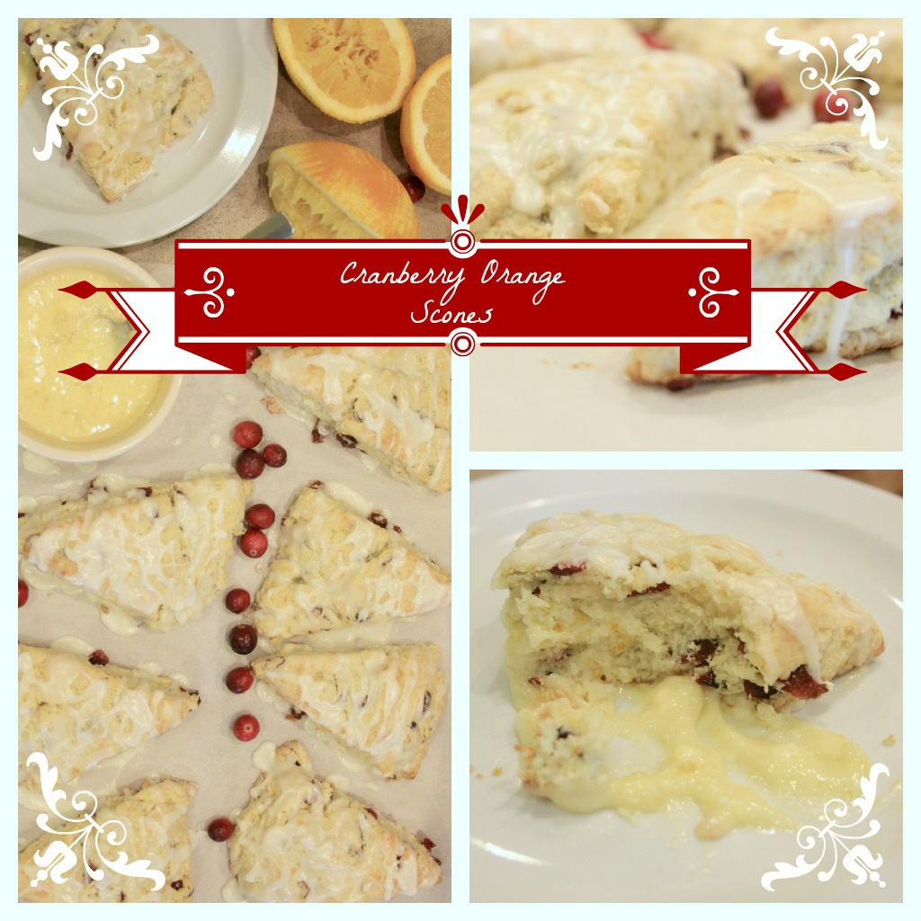 Get Your Chef On ~ Cranberry Orange Scones {with orange butter}
