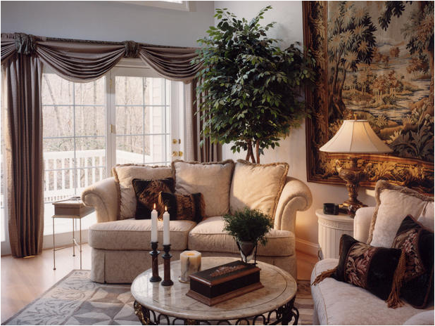 old style living room - photo #16