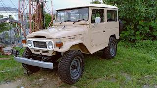 Dijual Mobil Jeep Legendaris FJ40