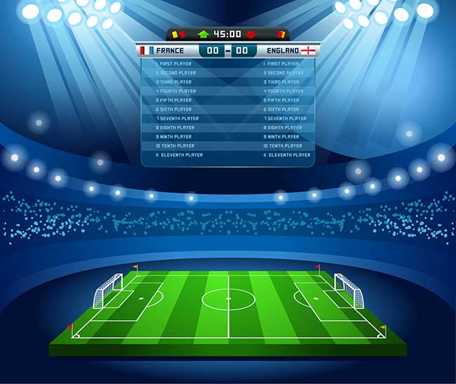 Football Vector Elements for Infographics 04 by Saltaalavista Blog