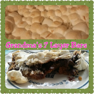 grandmas 7 layer bars