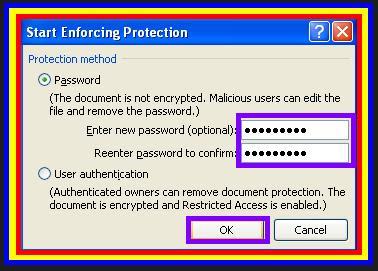 Gambar Cara Memberi Proteksi Atau Password Ms. Word 2007 3