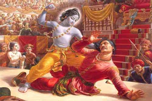 Uncle of Sri Krishna - Kans Mama