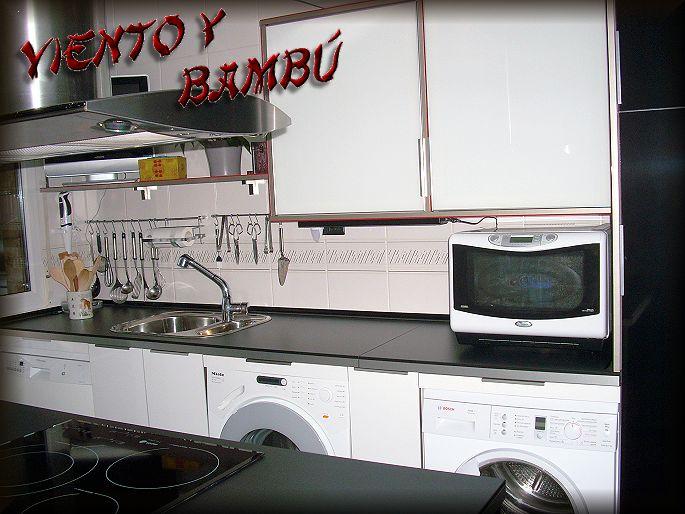 viento y bambú: Os presento mi nueva cocina ¡¡Por fin está lista!!