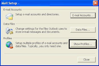create new  outlook PST file