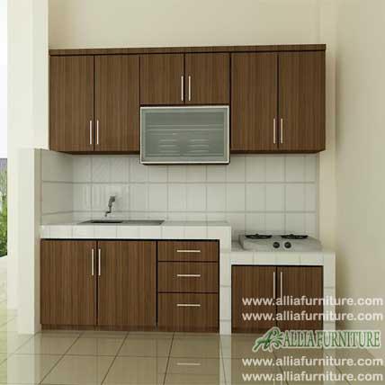 kitchen set simpel HPL model woody