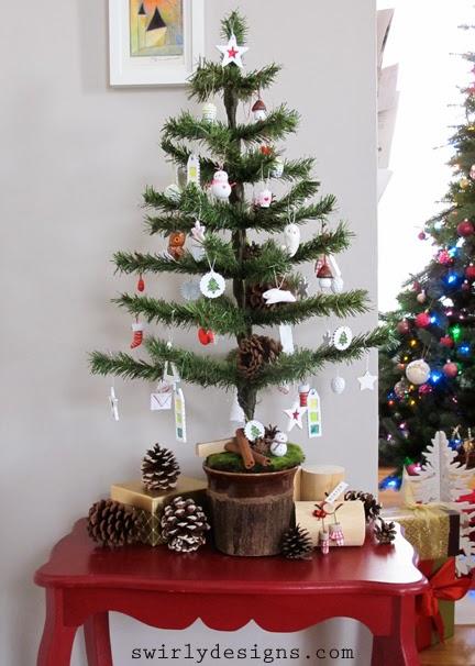 Swirly Designs by Lianne & Paul: A Mini Tree Make-Over