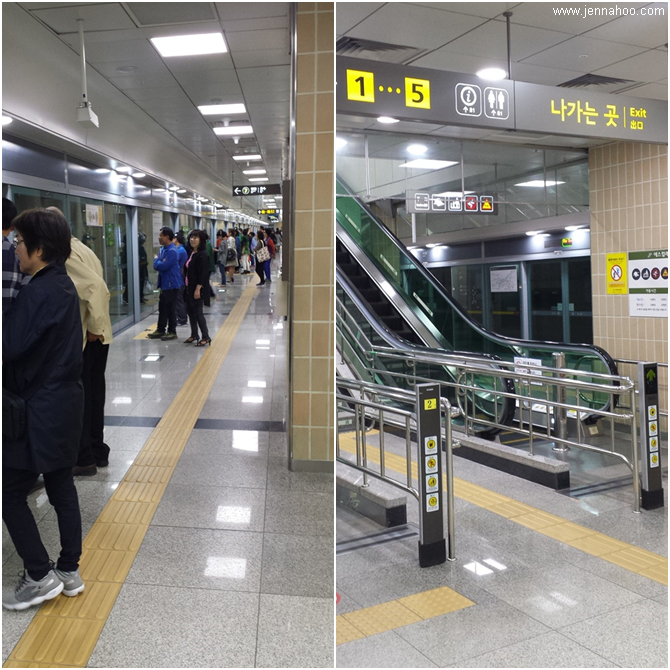 Korea Trip 2016 Seoul Subway