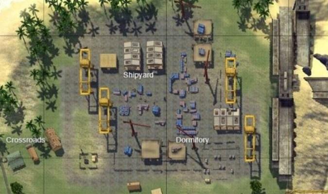 Lokasi Loot Terbaik di Game Free Fire - Shipyard