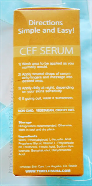 Timeless 20% Vitamin C + ferulic acid serum