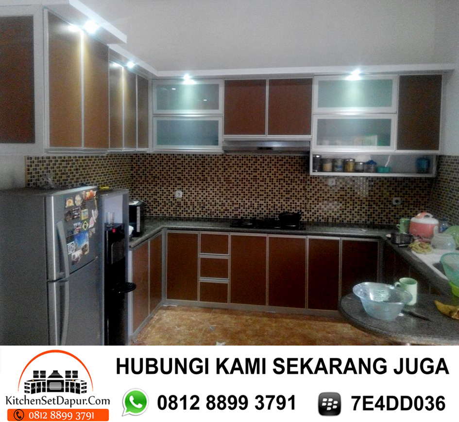 Kitchen Set Aluminium Bogor Bojong Gede Cibinong Sentul 0812 8899
