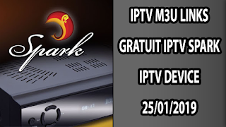 IPTV SPARK IPTV DEVICE 25/01/2019