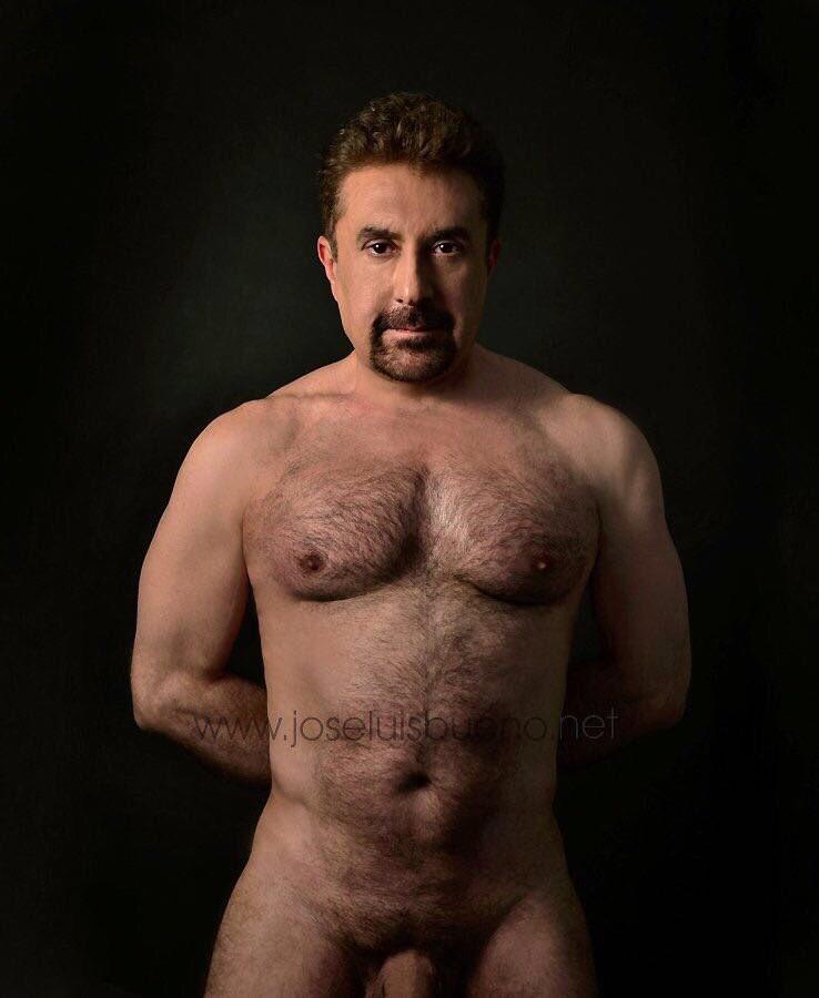 Foto de maestros desnudos de edad avanzada
