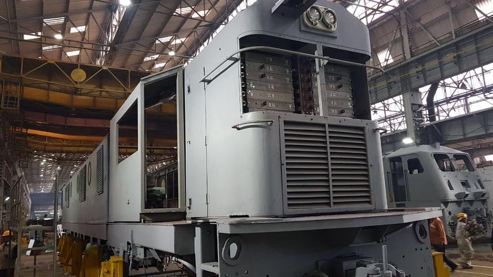 Diesel Locomotive Works Varanasi Railways Sundar