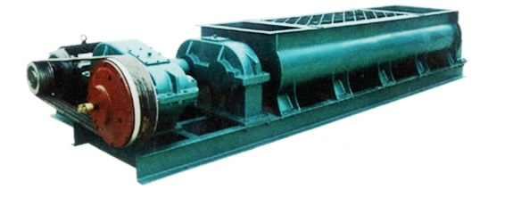 Brick making machine: Double shaft mixer