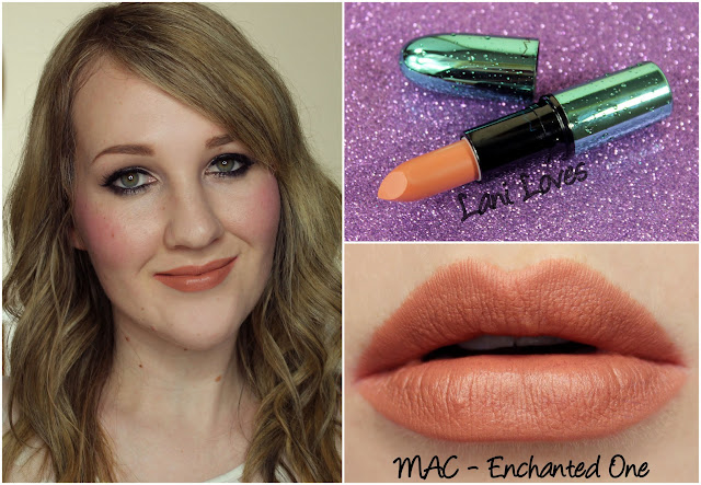 MAC Enchanted One lipstick swatch