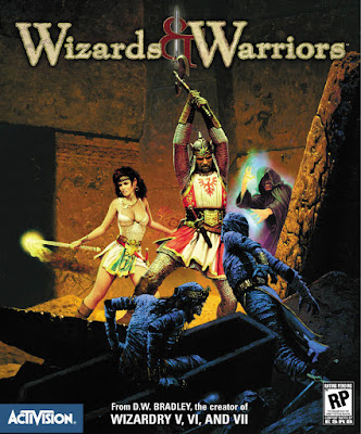 Wizards & Warriors - Game Cover