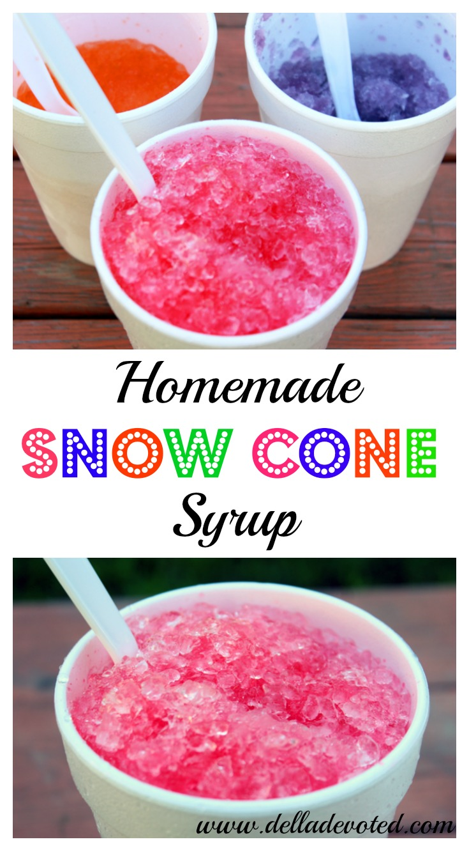 Homemade Snow Cone Syrup - Della Devoted-5989