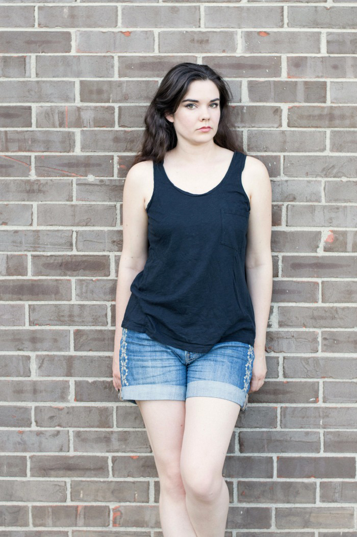 everlane slouchy slub tank review