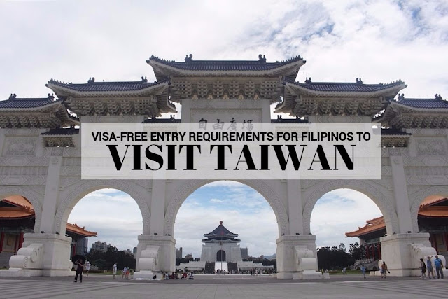 Requirements for Visa-Free Entry to Visit Taiwan for Filipinos