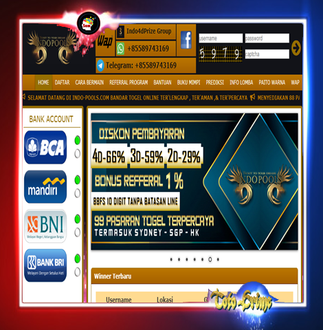 Bandar Togel INDO-POOLS