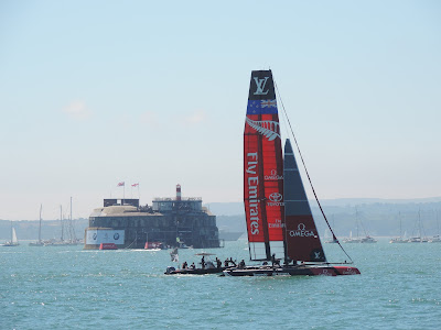 team new xealand americas cup portsmouth
