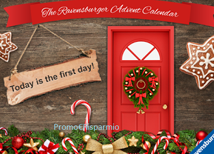 Calendario Avvento Ravensburger.Promo Risparmio Gioca Con Il Calendario Dell Avvento