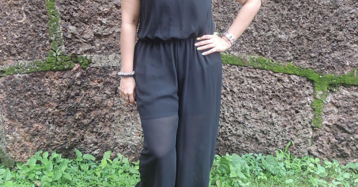 Outfit Post: The Black Jumpsuit