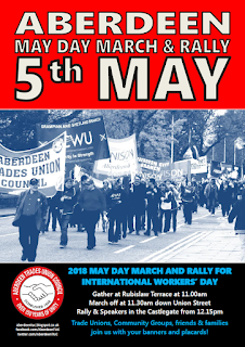Aberdeen May Day March - 5th May