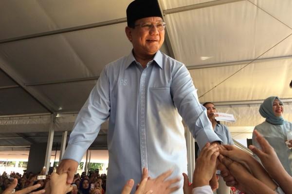 Jika Mendapat Mandat Memimpin, Prabowo akan Lakukan Ini
