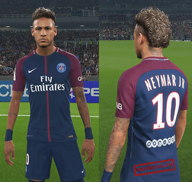 Neymar Tattoos For PES 2018