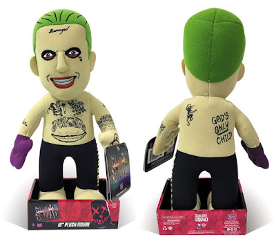 "San Diego Comic-Con 2016 Exclusive Suicide Squad ""Tattoo"" Joker Plush Figure by Bleacher Creatures"
