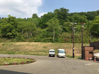 新玉川温泉 周囲の森