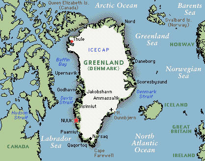 is greenland part of north america