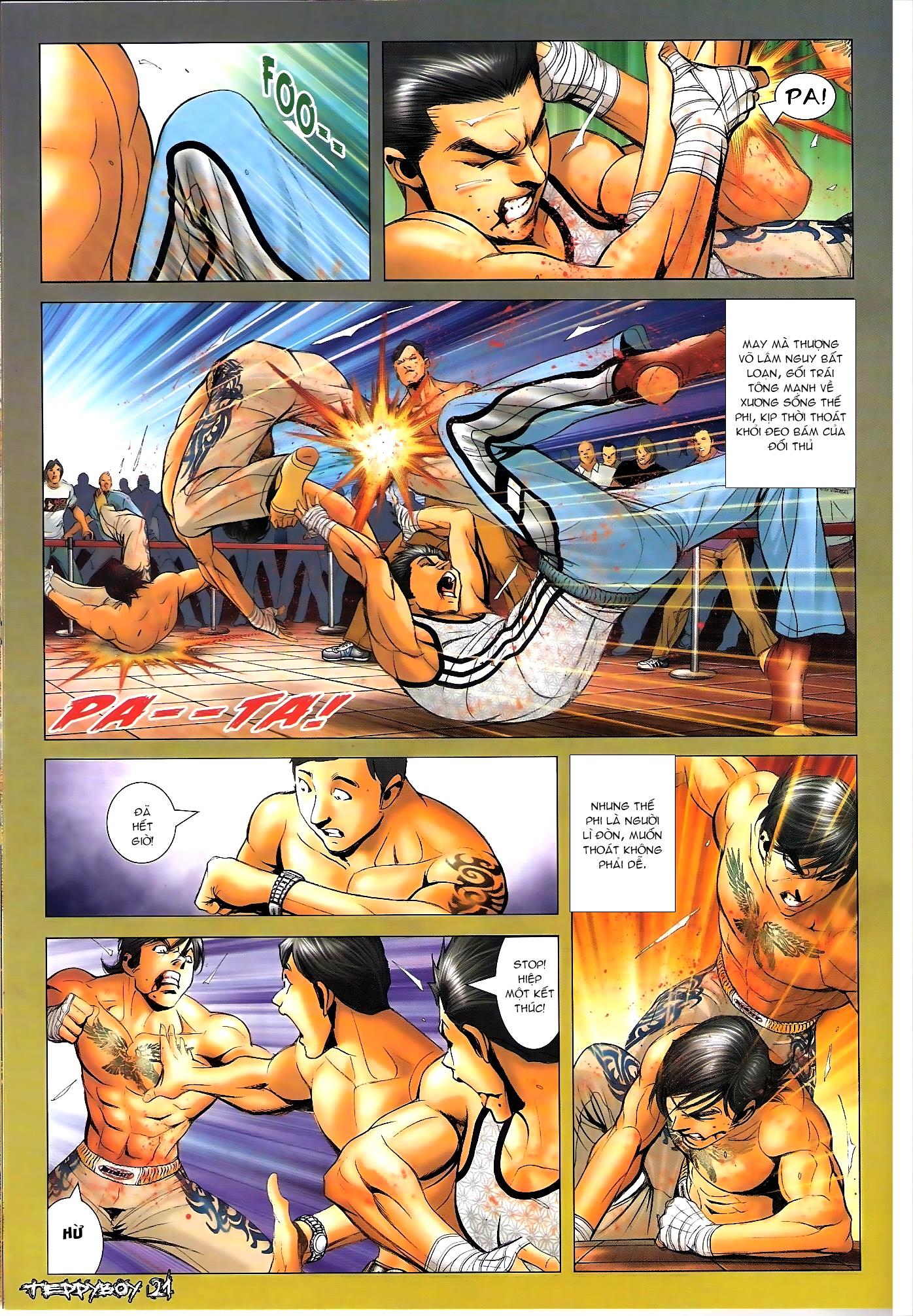 Người Trong Giang Hồ - Chapter 1307: Vinh Nhục Nhất Chiến 2 - Pic 18