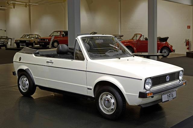 VW Golf Cabriolet Protótipo 1986